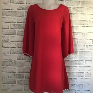 Umgee coral dress with back bow